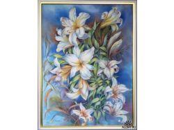 Картинки цветы пионы батик 7