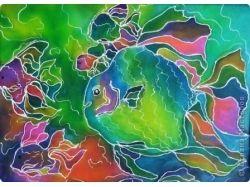 Сказочный подводный мир рисунки 7