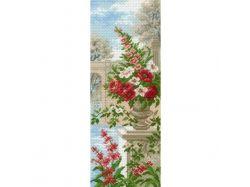Цветы в вазе рисунок поэтапно 7