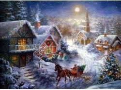 Фэнтези картинки новогодние 7