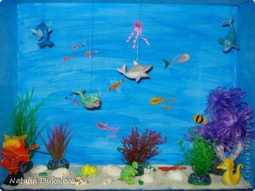 Макет подводного мира своими руками
