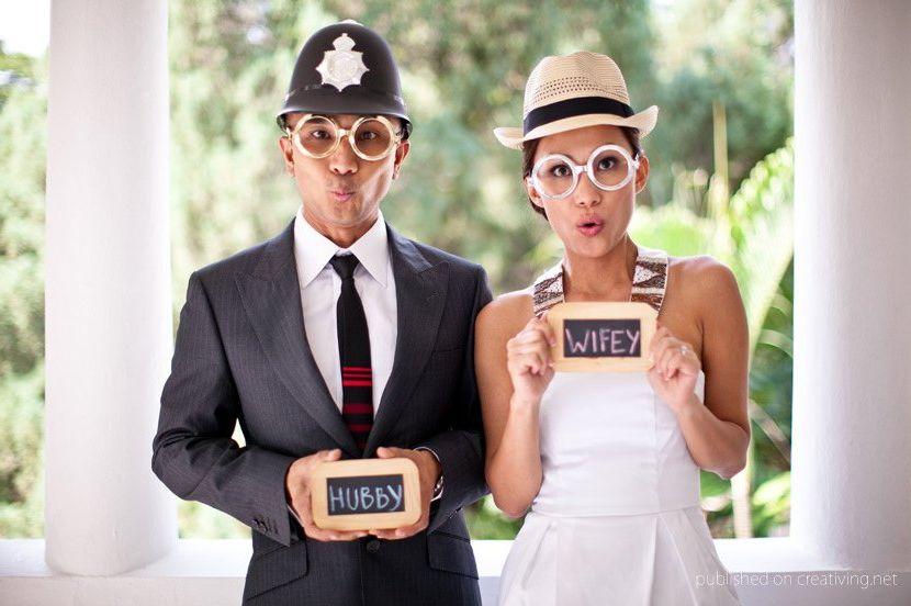 Креативная свадьба идеи фото