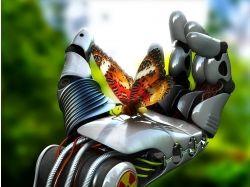 Бабочка на ладони девушки фото 7
