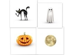 Открытки рисунки хэллоуин 7