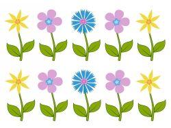 Цветы рисунок для детей 7