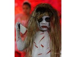 Хэллоуин рисунки на лице видео 2
