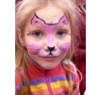 Хэллоуин рисунки на лице видео 5