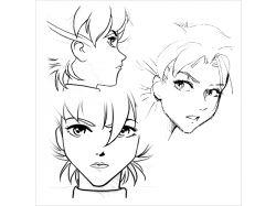 Бесплатные картинки аниме только лица 7