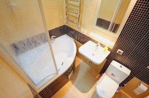 Дизайн ванной 2.5 кв.м