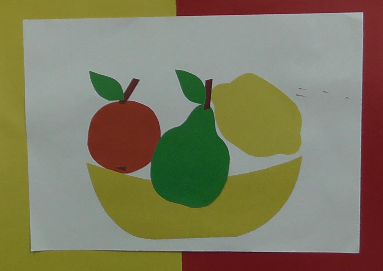 Аппликации с овощей для детей фото