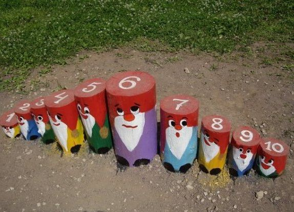 Идеи для детской площадки фото своими руками