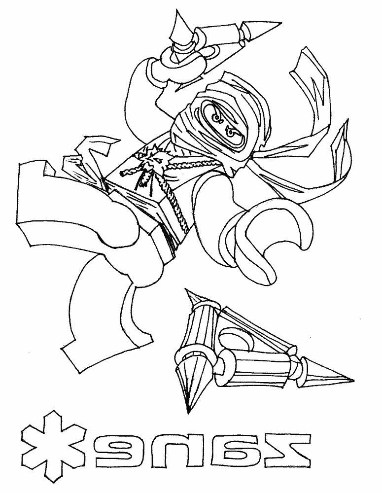 Раскраски для мальчиков распечатать бесплатно лего ниндзяго - 1