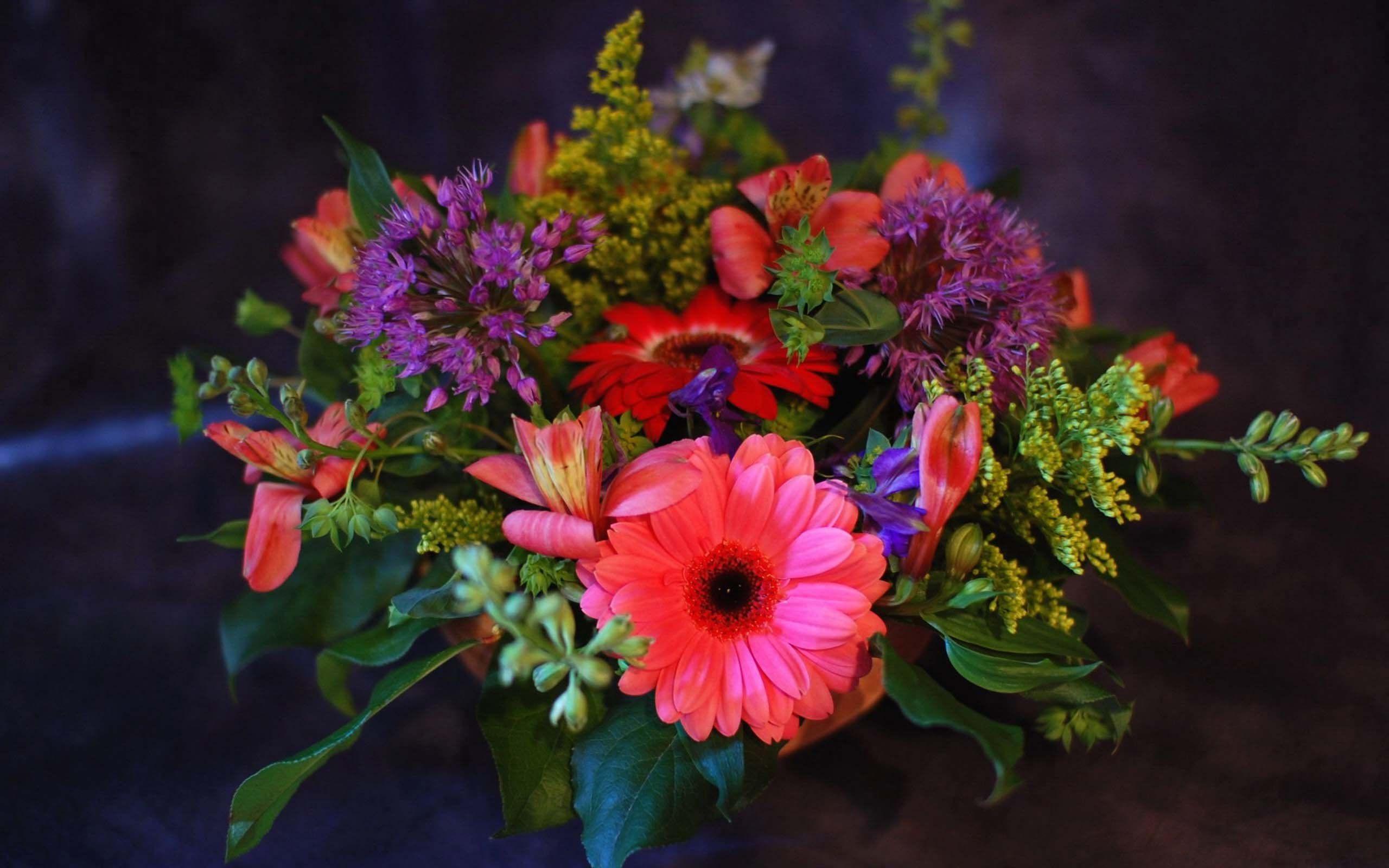 Фото букетов цветов для рабочего стола