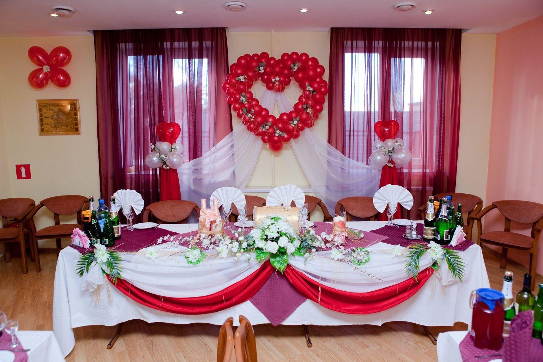 Украшение свадебного зала фото своими руками фото