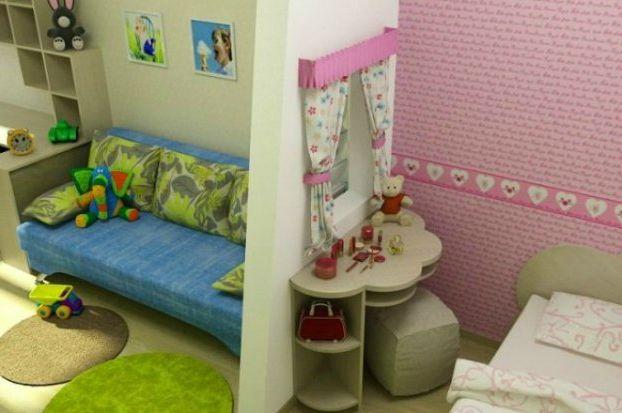 Фото детских комнат для двоих детей своими руками