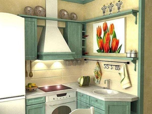 Идеи для маленькой кухни 5 кв.м