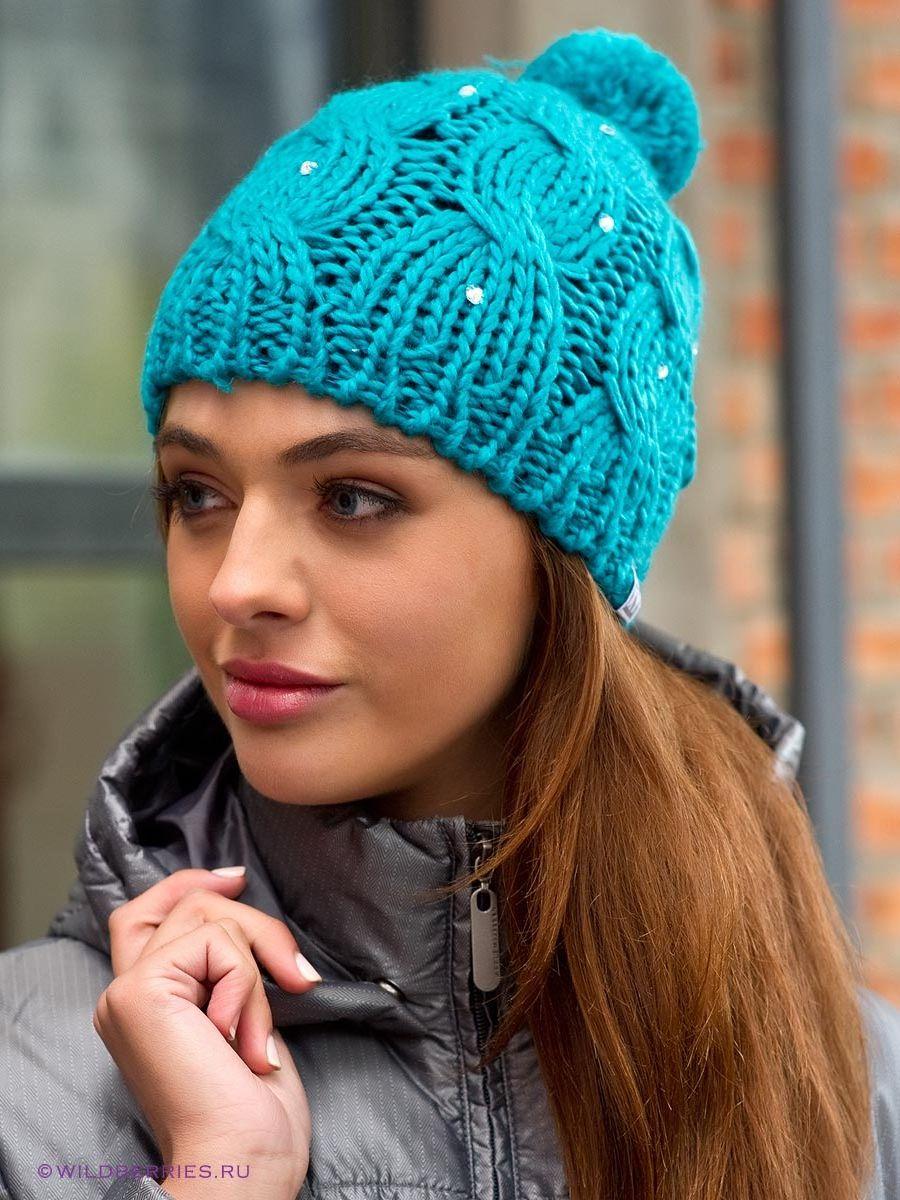 Фото вязание шапка женская