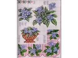Цветы картинки для вышивки детям дошкольникам 7