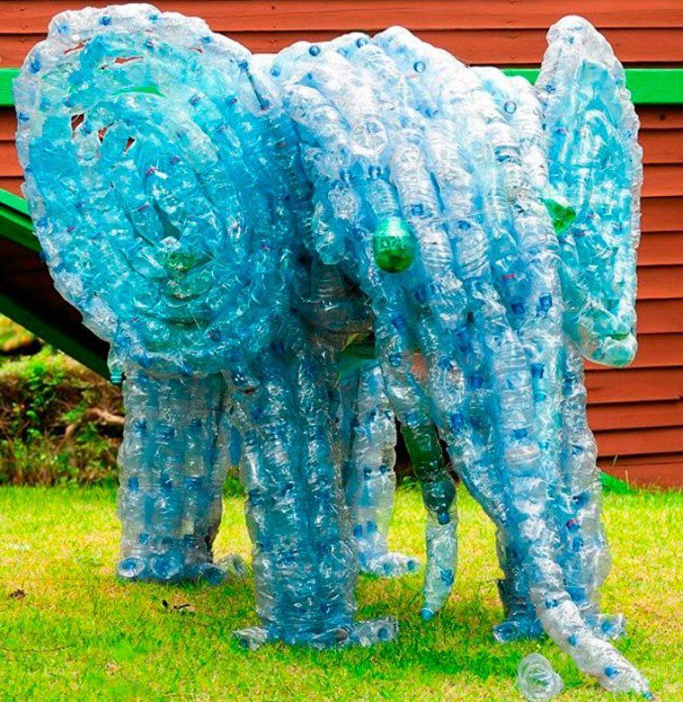 Поделки из пластиковых бутылок картинки