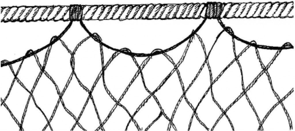 Своими руками изготовление рыболовной сети