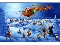Картинки зима новый год 4