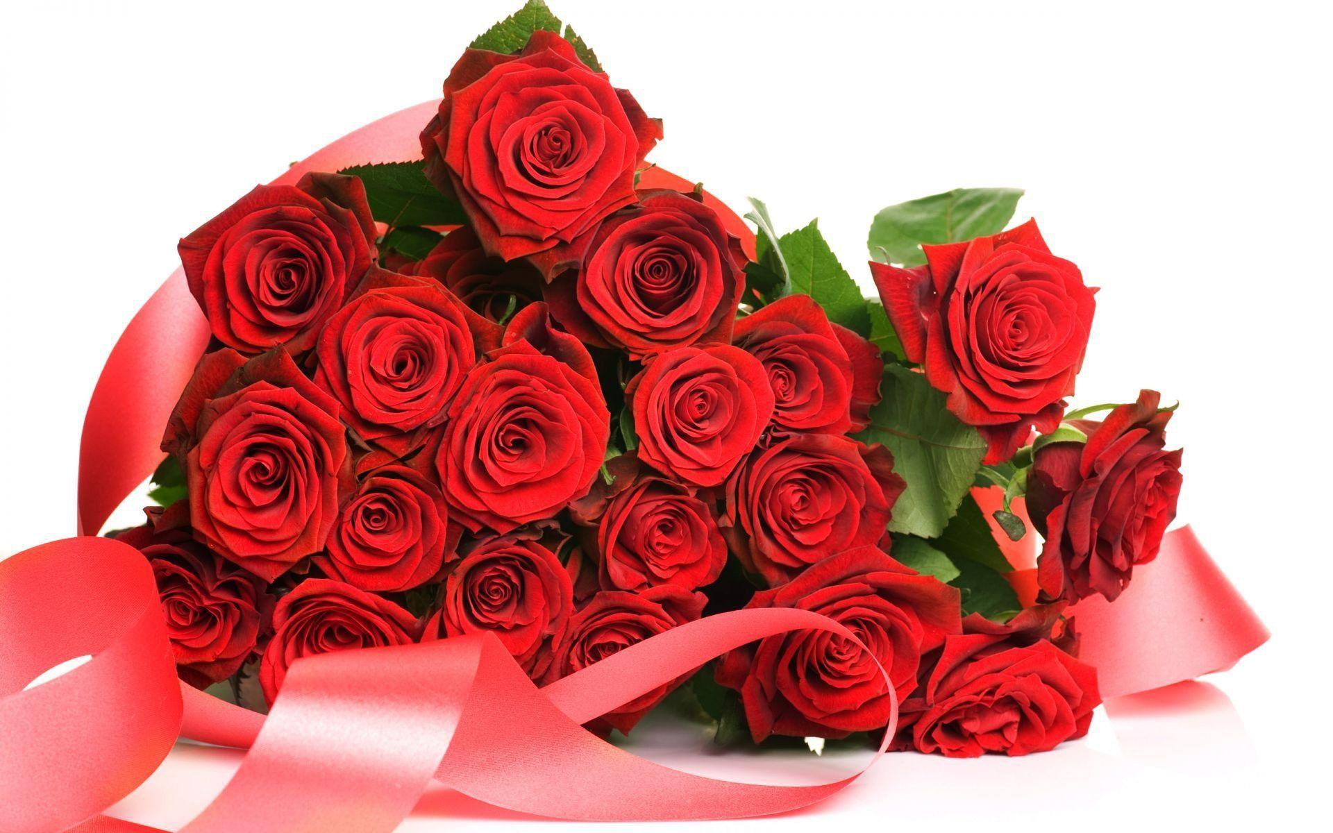 Красивый букет цветов с пожеланиями