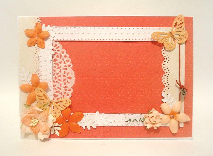 Рамки для фотографий из картона для детей пошагово