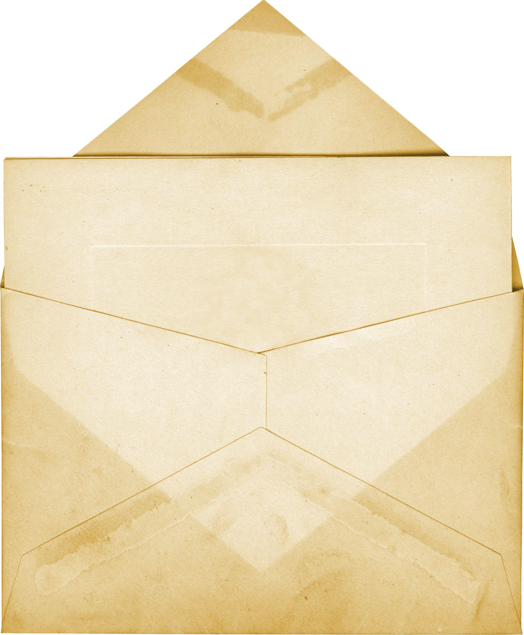 Старый конверт своими руками