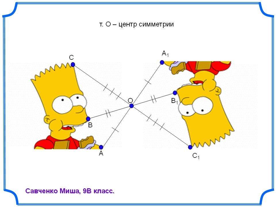 Рисунки по геометрическим точкам