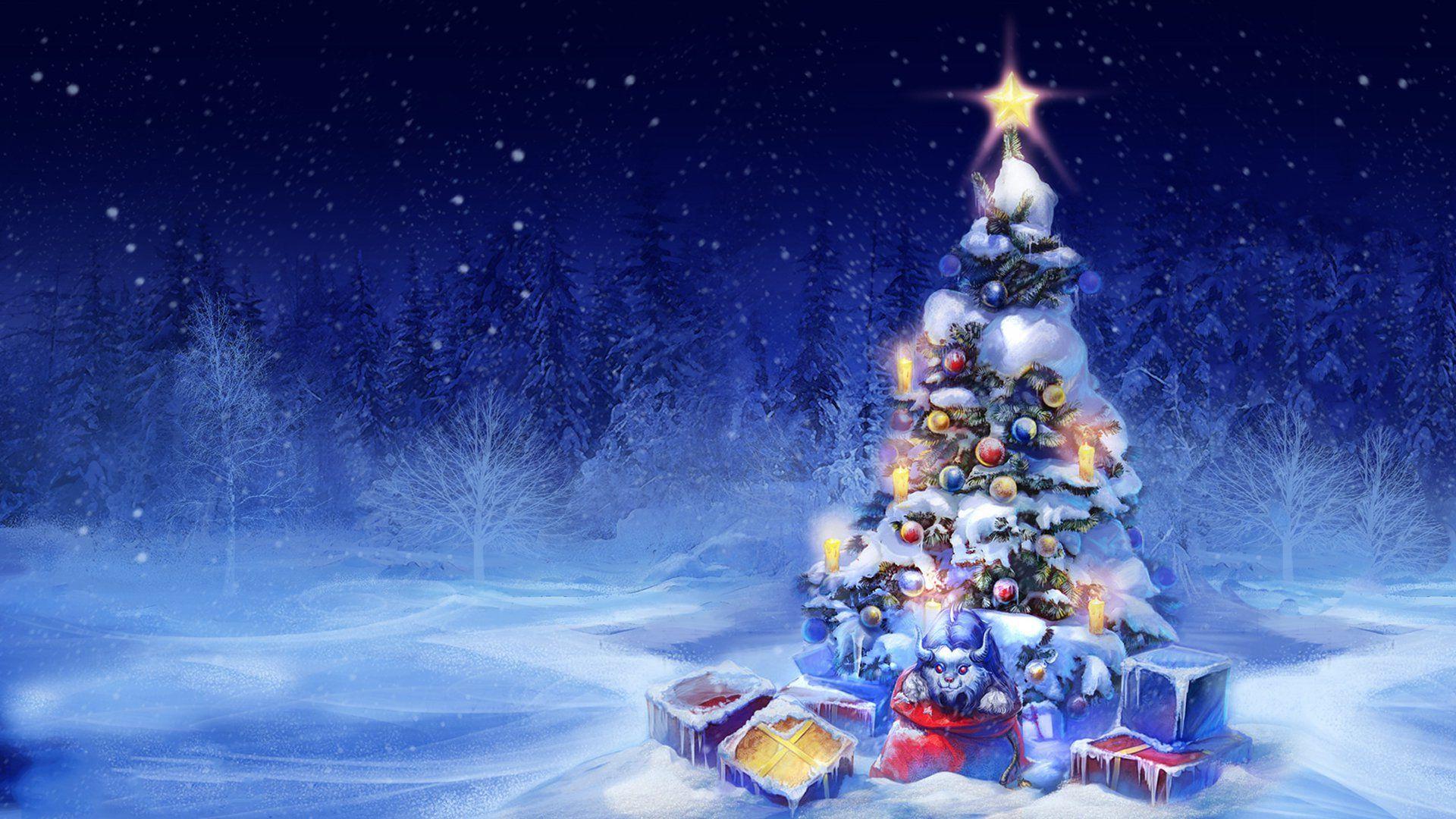 новогодние темы обои на рабочий стол № 579589 бесплатно