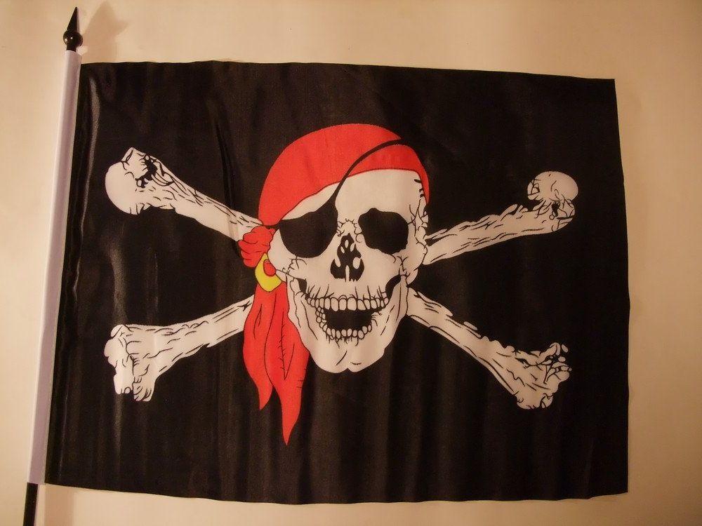 Как сделать флаг пиратский