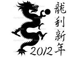 Черно белые новогодние рисунки 9