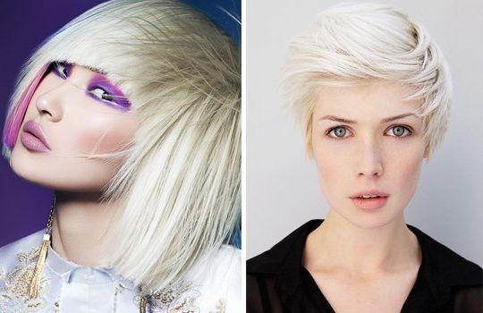 Платиновая блондка