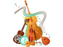 Музыкальные инструменты картинки 9