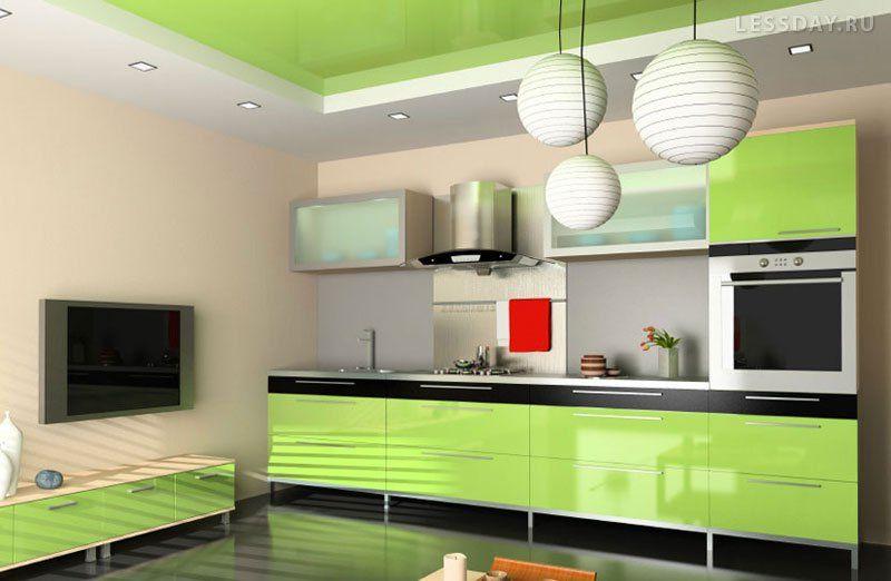 Кухонный гарнитур фото дизайн в интерьере
