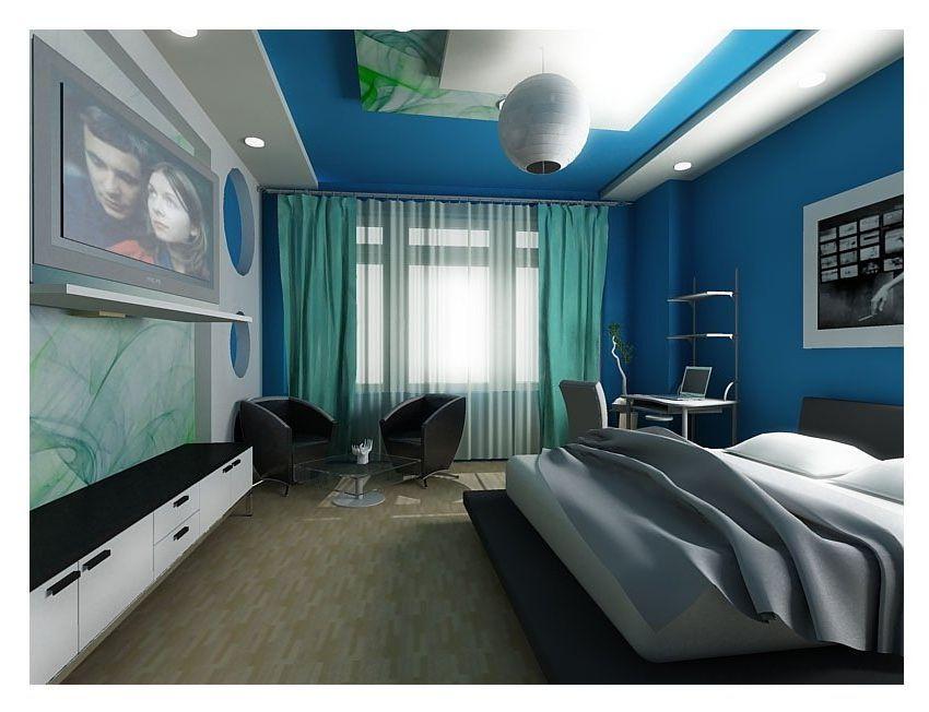 Дизайна комнаты для молодого человека