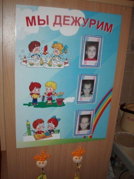 Уголок дежурства в детском саду своими руками оформление