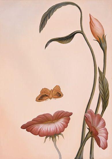 Цветок лицо