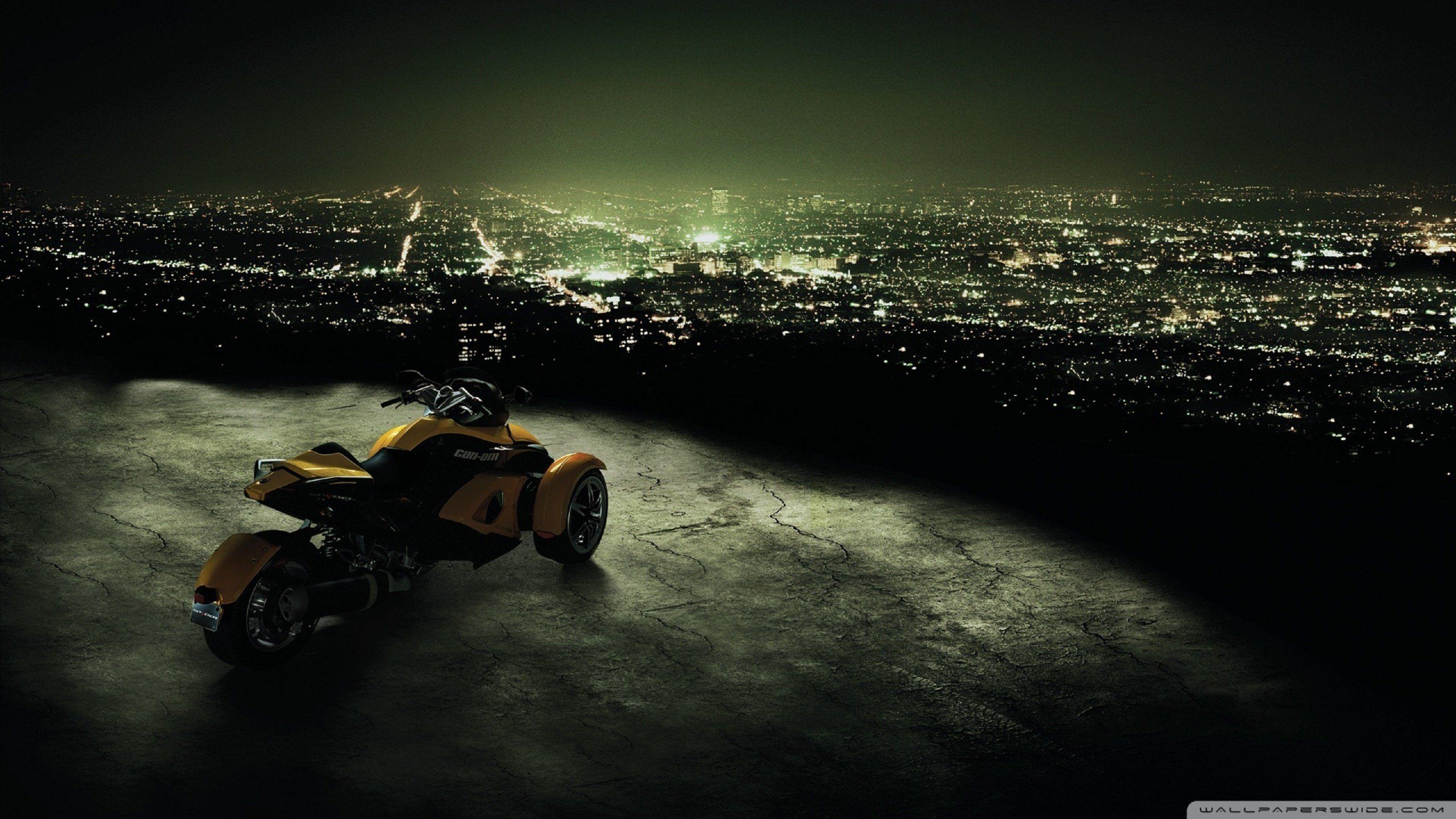 мотоцикл ночь город  № 1584585 загрузить