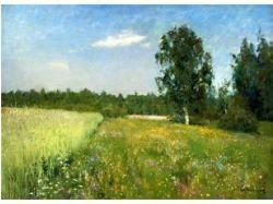 Лето картины русских художников 7