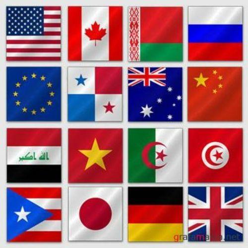 Национальныеы всех стран