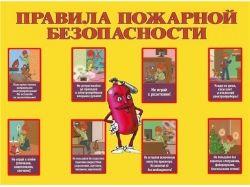 Картинки для детей по пожарной безопасности 5