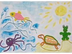 Подводный мир из пластилина 9