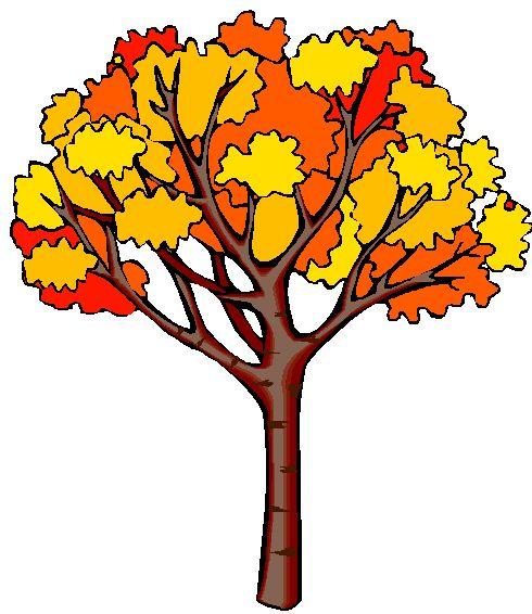 Картинка Осеннее Дерево Для Детей