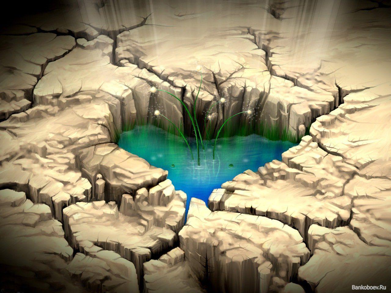 Вода это наша жизнь-детские рисунки