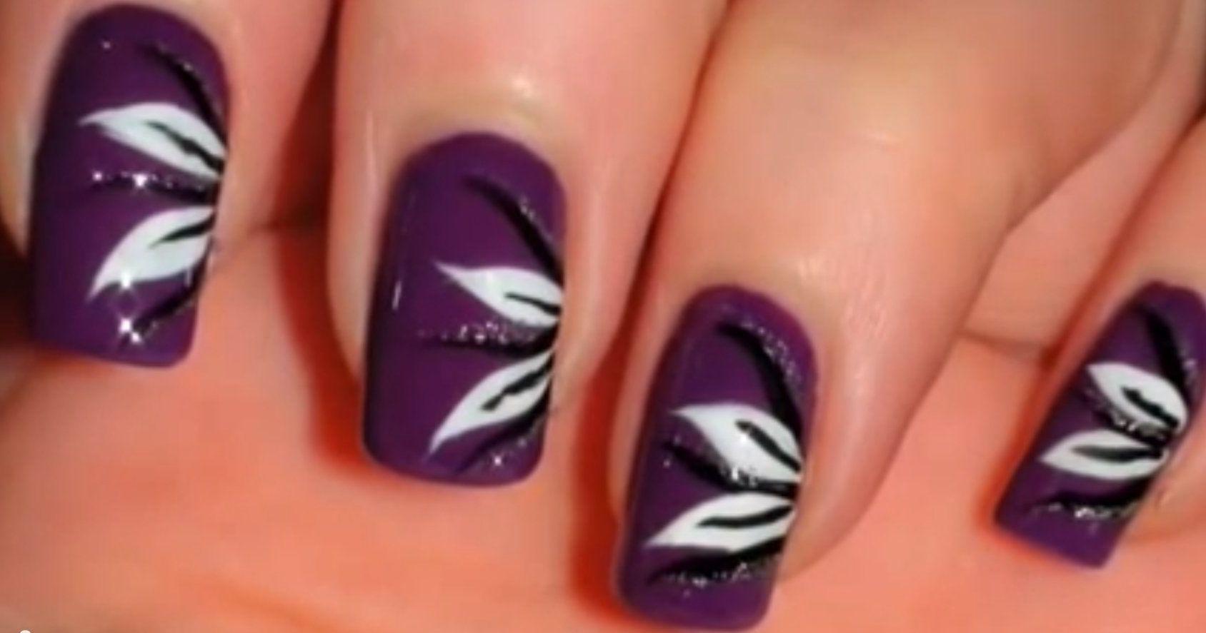 Фото рисунков на ногтях в домашних условиях