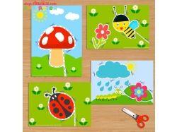 Картинки для вырезания ножницами для детей распечатать