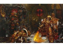 Фэнтези картинки воины