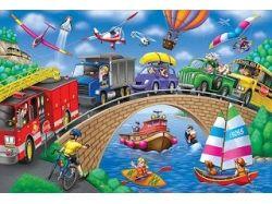 Дорожное движение для детей картинки