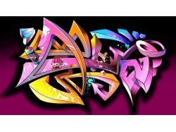 Граффити обои для рабочего стола